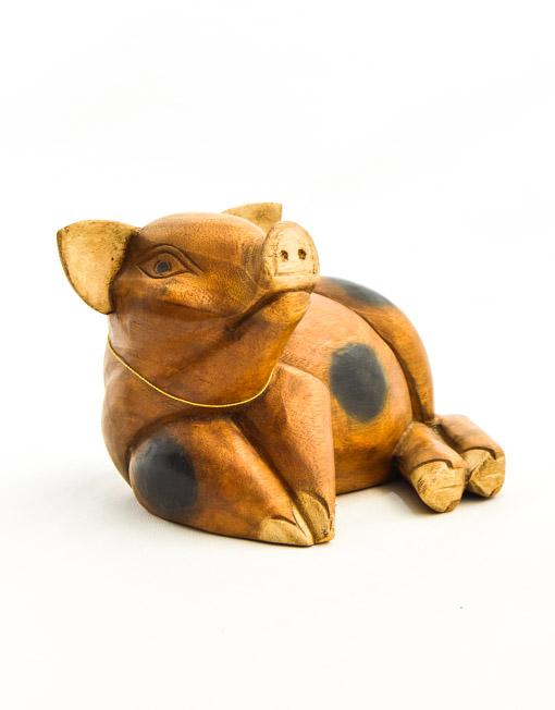 porco madeira