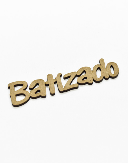 Aplicação Palavra Batizado em Madeira