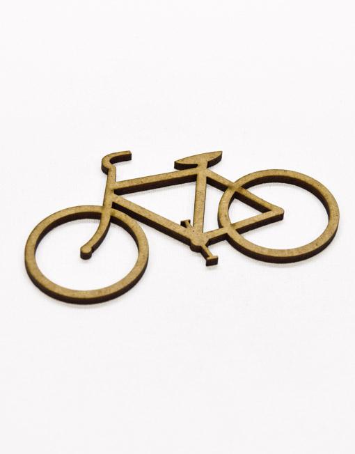 Bicicleta em Madeira