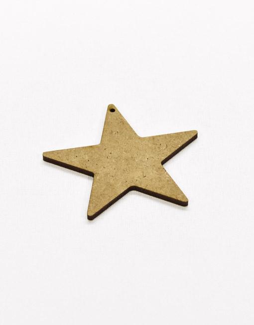 Aplicação Estrela em Madeira