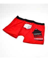 Boxer Vermelho Embalagem