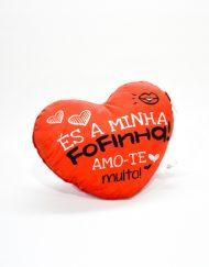Almofada Coração Fofinha 25 cm