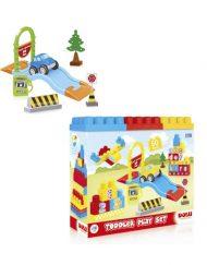 Caixa 50 Peças Legos Construção Didáticas