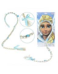 Princesa Frozen Trança Luxo