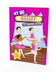 My Big Ballet- Colouring Book