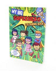My Big Superhero- Colouring Book