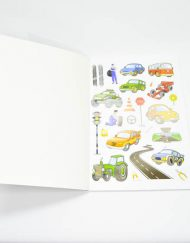 My Big Vehicle- Colouring Book