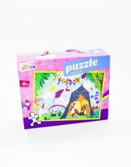 Puzzle 45 Pçs Menina Acampamento Grafix