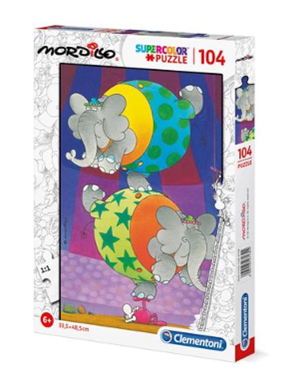 Puzzle 104 Pçs Mordillo - The Balance - Clementoni