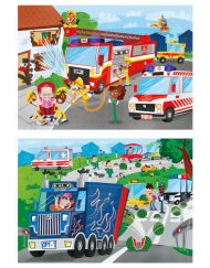 Puzzle Super 2x60 Heróis - Clementoni