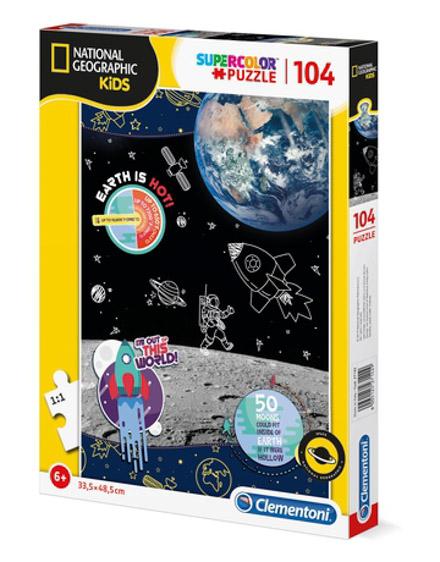Puzzle National Geographic 104 Pçs Espaço - Clementoni