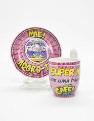 Conjunto Café Super Mãe