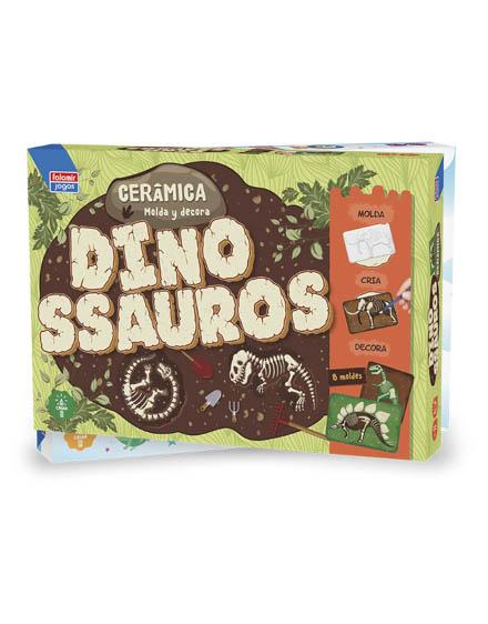 Cerâmica Dinossauros