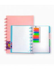 Caderno Inteligente Unikolor, A4 Cor Paste
